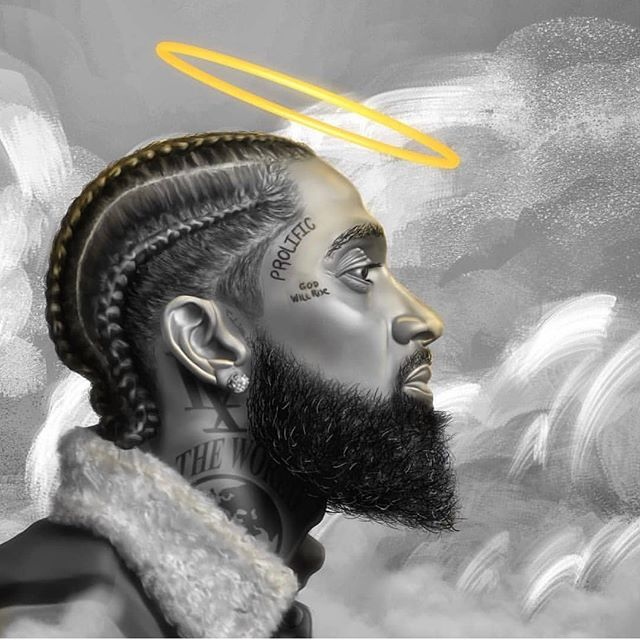 Image result for nipsey hussle painting